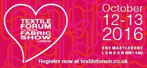 Textile Forum - 12-13 October 2016
