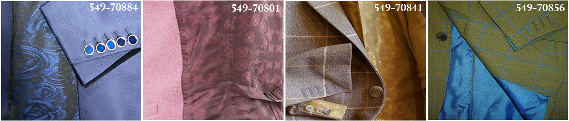 Exclusive 100% Cupro Jacquard Linings