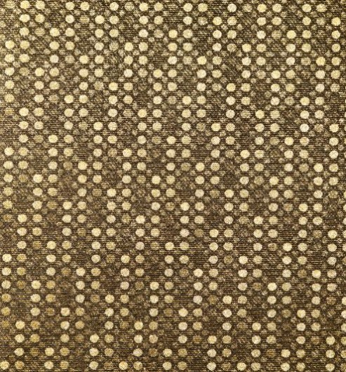 Silk/Lurex Facing Gold Spots