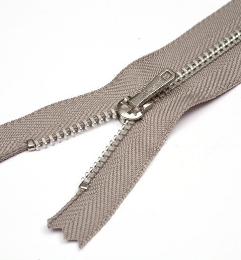 YKK Curved Metal Trouser Zips - The Lining Company