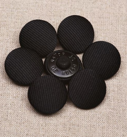 30L Silk Cord Covered Buttons