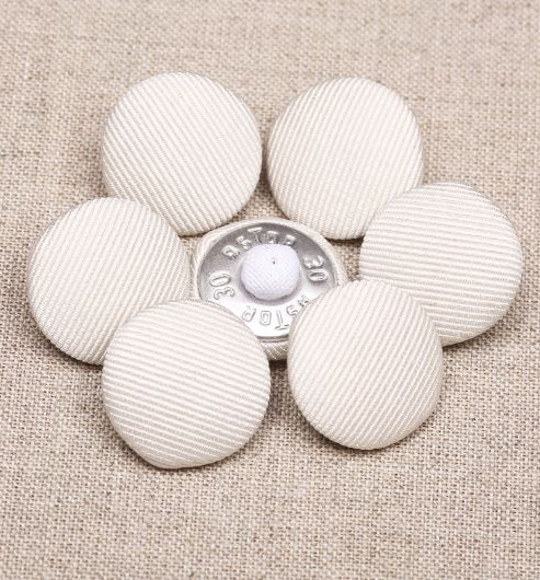 36L Silk Cord Covered Buttons