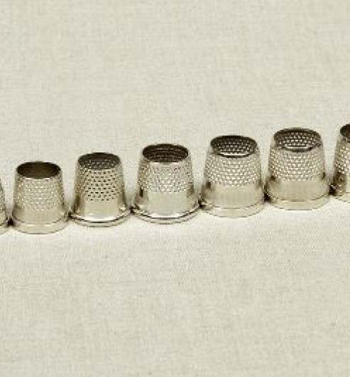 Nickel Plated Brass Thimbles