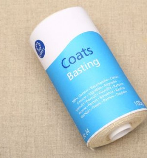 Coats Basting Thread Natural