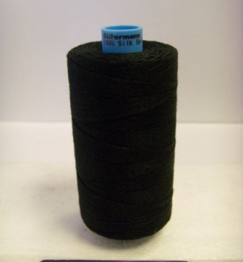 100% Silk Buttonhole Twist for Overcoats 300m Reels