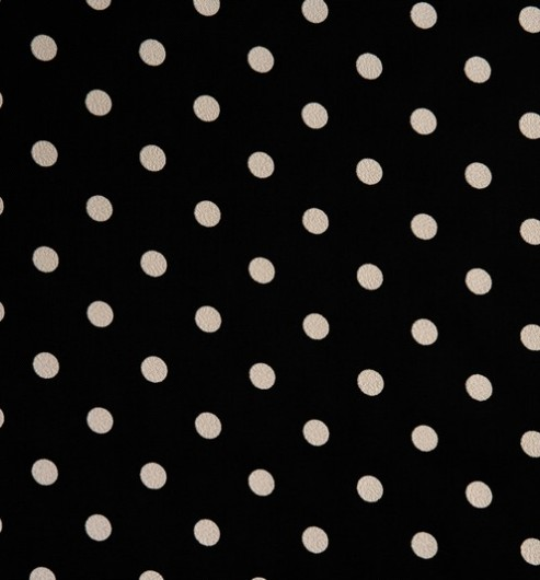 Acetate Printed Taffetas - Polka Dot - Special Offer