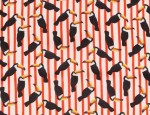 100% Viscose Twill - Toucans