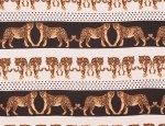 100% Viscose Twill - Leopards