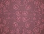 Exclusive Jacquard Cupro design linings - Dusky Pink-Old English Rose