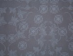 Exclusive Jacquard Cupro design linings - Dusky Blue-Old English Rose