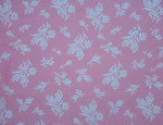Exclusive Jacquard Cupro design linings - Sky Blue-Rose