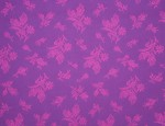 Exclusive Jacquard Cupro design linings - Magenta-Rose