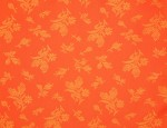 Exclusive Jacquard Cupro design linings - Tangerine-Rose