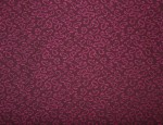 Exclusive Jacquard Cupro design linings - Magenta-Small Paisley