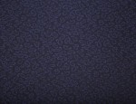Exclusive Jacquard Cupro design linings - Navy-Small Paisley
