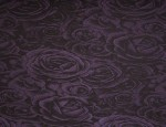 Satin Jacquard Cupro lining - Royal Purple-Velvet Rose