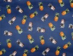 100% Viscose Twill - Pineapples