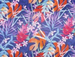 100% Viscose Twill - Tropical Plants           (PRINT TO ORDER ONLY)