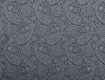Exclusive Jacquard Cupro design linings - Gold Paisley