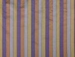 100% Cupro Block Stripe Linings - #4