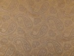 Exclusive Jacquard Cupro design linings - Light Fawn/Blue Paisley