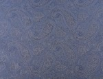 Exclusive Jacquard Cupro design linings - Denim Paisley