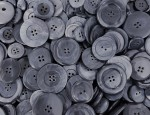 1kg Bag Assorted Horn Buttons - Brushed Denim