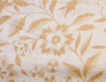 "54"" Acetate Taffeta Lining - Floral Print - Gold Floral"